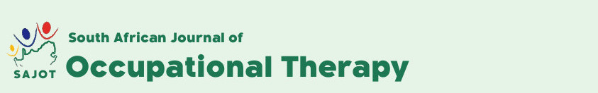 South African Journal of Occupational Therapy - logo